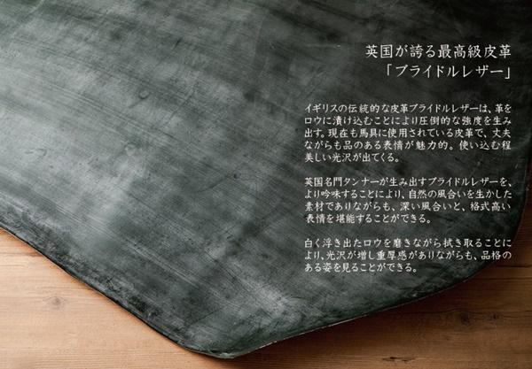 【再発売】ブライドルレザーのメンズ長財布(ラウンドファスナー)の魅力!