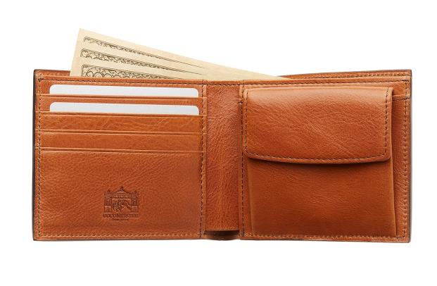 ロッソピエトラ・二つ折り財布1