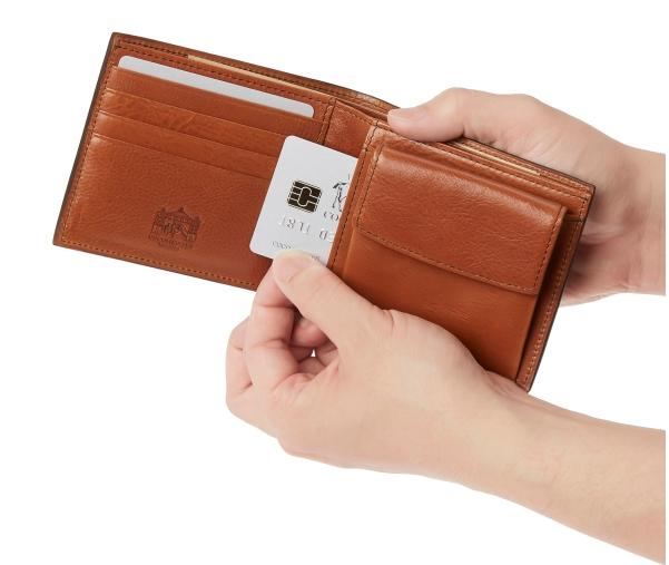 ロッソピエトラ・二つ折り財布3